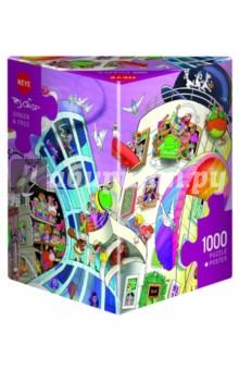 Puzzle-1000 Джинджер и Фред (29749)Пазлы (1000 элементов)<br>Пазл-мозаика.<br>Состоит из 1000 элементов.<br>Правила игры: вскрыть упаковку и собрать игру по картинке.<br>Размер собранной картинки: 50х70 см.<br>Не давать детям до 3-х лет из-за наличия мелких деталей.<br>Упаковка: картонная коробка.<br>Производитель: Чехия.<br>