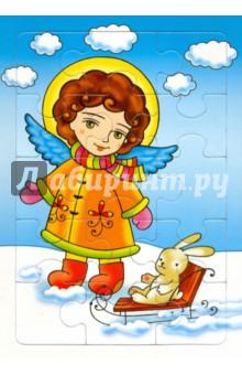 Пазл. Небесный мир (Ангелы, 4 вида)