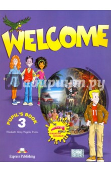 Welcome 3. Pupils BookИзучение иностранного языка<br>Welcome is a three-level beginners course for children learning English. Welcome 3 finds Oscar in Edinburgh where he has moved with his family. There, he meets a new group of friends and becomes a reporter for the school magazine, The Welcome Weekly. Oscar and his new friends invite pupils to join in the fun and explore the English language through lively dialogues and exciting situations.<br>