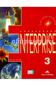Enterprise 3. Pre-Intermediate. CoursebookИзучение иностранного языка<br>Enterprise 3: Pre-Intermediate consists of four modules and is the third of a four-level English course. It is specially designed to motivate and involve students in effective learning. The course provides systematic preparation for all the skills required for successful communication both in written and spoken form.<br>