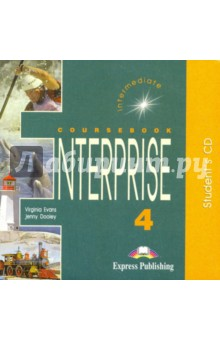 Enterprise 4 Students Audio Intermediate. Для работы дома (CD)Английский язык<br>Enterprise 4: Intermediate is the fourth of a four-level English course It consists of four modules and is specially designed to motivate and involve students in effective learning. The course provide; systematic preparation for all the skills required for successfu communication both in written and spoken form.<br>