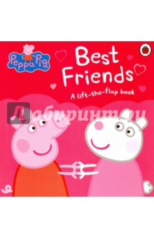 Peppa Pig. Best Friends (board book)Литература на иностранном языке для детей<br>Lift the flaps to meet Peppa and her family s favourite friends and discover something that s even better than best friends! Based on the hit pre-school animation, Peppa Pig, shown daily on Five s Milkshake and Nick Jnr.<br>