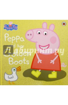 Peppa Pig. Peppa and Her Golden Boots (PB)Литература на иностранном языке для детей<br>Poor Peppa! Mrs Duck has stolen Peppa Pig s special golden wellies and now she can t compete in the Puddle-Jumping Competition! Can Peppa and her friends get the golden wellies back in time? This delightful picture book is based on the Peppa Pig film, The Golden Boots.<br>