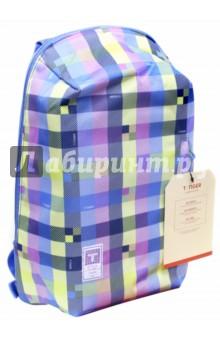Рюкзак Клетка (44х29х14 см) (81111B) (225572)Рюкзаки школьные<br>Рюкзак предназначен для хранения канцелярских принадлежностей.<br>1 большое отделение на молнии, внутренние карманы. <br>1 внешний карман. <br>Материал: полиэстер 100%.<br>Подкладка: полиэстер 100%.<br>Сделано в Китае.<br>