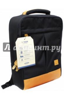 Рюкзак (43х29х14 см) (81107B) (225570)Рюкзаки школьные<br>Рюкзак предназначен для хранения канцелярских принадлежностей.<br>1 большое отделение на молнии, внутренние карманы. <br>Материал: полиэстер 100%.<br>Подкладка: полиэстер 100%.<br>Сделано в Китае.<br>