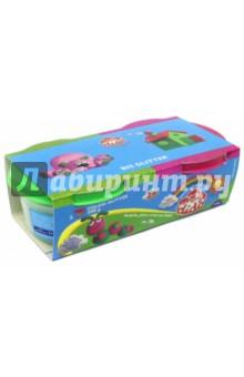 Детская паста для лепки DIDO (2 цвета с блестками, 100 гр) (396702)