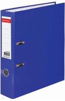 Папка-регистратор (80 мм, синяя) (222069)Папки-регистраторы<br>Папка с арочным механизмом.<br>Формат: А4.<br>Механизм на 2  арках <br>Цвет: красный. <br>Материал: картон, металл.<br>Сделано в России.<br>