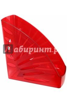 Лоток вертикальный для бумаг (вишневый) (ЛТ358) СТАММ