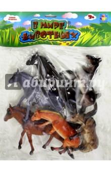 ФОТО Набор игрушечных лошадей, 6 шт х 20 см (Т50499)