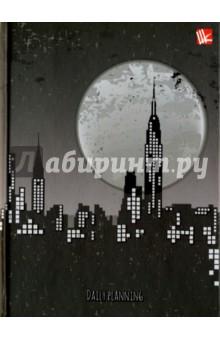 """Ежедневник недатированный """"Ночной город"""" (А6, твердая обложка) (ЕЖЛ17616016) Эксмо-Канц"""