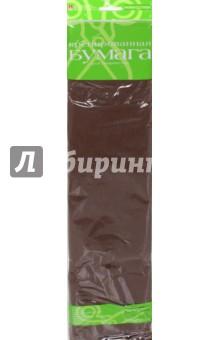 Бумага цветная креповая (коричневая) (2-060/07) Альт