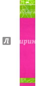 Бумага цветная креповая, розовая (2-060/11) Альт