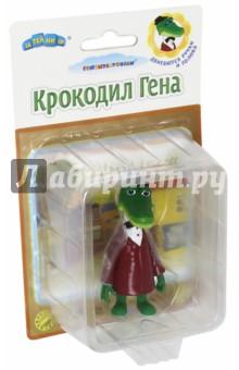 Фигурка Крокодил Гена (GT8404)Герои мультфильмов<br>Фигурка Крокодил Гена. Изготовлена из ПВХ. <br>Подвижные руки и голова.<br>Для детей от трех лет.<br>