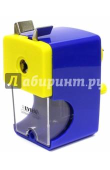 Точилка механическая (L7321660)Точилки<br>Точилка механическая.<br>Корпус металлический.<br>Для карандашей любой формы.<br>Диаметр карандашей: до 12 мм.<br>Сделано в Китае.<br>