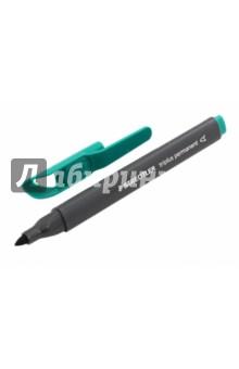 Перманентный маркер Triplus. В трехгранном корпусе. Зеленый. 1-2 мм. (3452-5) STAEDTLER