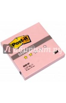 Блок самоклеящийся розовый (76х76 мм, 100 листов) (654R-BP) POST-IT