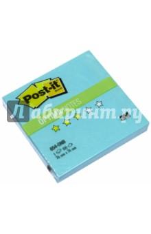 Блок самоклеящийся бирюзовый неон (76х76 мм, 100 листов) (654-ONB) POST-IT
