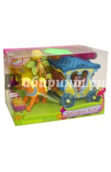 Набор игрушек Фея Данди в Голубой Карете (84209-1)Герои мультфильмов<br>Набор игрушек Фея Данди в Голубой Карете.<br>Предназначено для детей от трех лет - содержит мелкие детали. <br>Упаковка: картонная коробка.<br>Произведено в Китае.<br>