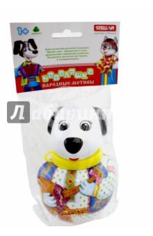 Неваляшка малая Собачка Бим (01731)Другие игрушки для малышей<br>Классическая русская игрушка. Яркий цвет, вращение и звук привлекают внимание ребенка. Развивает детскую моторику и координацию.<br>Предназначена для детей от 1-го года и старше.<br>Сделано в России.<br>