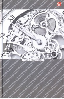 """Ежедневник недатированный """"Офисный стиль. Время"""" (твердая обложка, А5) (ЕЖ17511202) Эксмо-Канц"""
