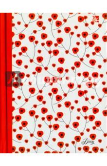 """Ежедневник недатированный """"Орнамент. Цветение"""" (А6+, 128 листов) (ЕЖ17612803) Эксмо-Канц"""