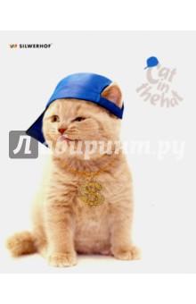 "Тетрадь 48 листов, линия ""CAT IN THE HAT"", 5 видов (811437-65) Silwerhof"