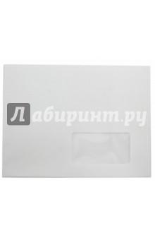 Конверт С5, 162х229 мм, стрип, правое окно (П-1421) Ряжская печатная фабрика
