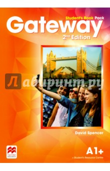 Gateway. Students Book Pack. A1+Английский язык<br>The Gateway 2nd Edition A1+ Student s Book Pack contains a strong exams focus and promotes exams task familiarisation throughout. This Student s Book Pack includes access code for the Student s Resource Centre provides the Class audio, Workbook audio, videos on Life skills and the Flipped classroom and a downloadable Macmillan eReader.<br>2nd Edition.<br>