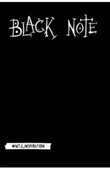 Black Note. Креативный блокнот с черными страницамиБлокноты тематические<br>Уникальный блокнот с черными страницами! Попробуйте написать или нарисовать что-нибудь белой/серебряной/золотой ручкой или карандашом в этом блокноте. Даже если у вас ужасный почерк и вы совсем не умеете рисовать результат вас удивит! Это магия черной бумаги, добавляющая каждому штриху изящество и красоту. Подарите себе этот стильный блокнот для записей. Удивляйте и экспериментируйте!<br>