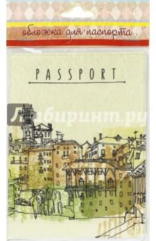 "Обложка для паспорта ""Bassano del Grappa"" (41573) Феникс-Презент"
