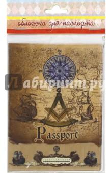 """Обложка для паспорта """"Вокруг света"""" (41579) Феникс-Презент"""