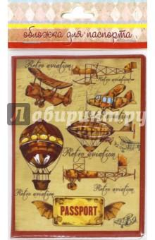 """Обложка для паспорта """"Самолеты и дирижабли"""" (41580) Феникс-Презент"""