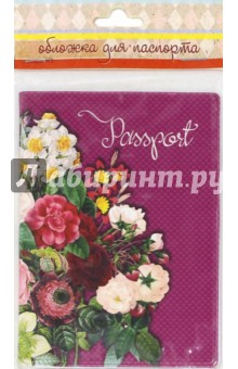 """Обложка для паспорта """"Цветочная гирлянда"""" (41585) Феникс-Презент"""