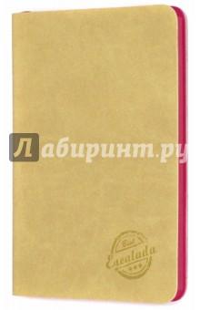 Записная книжка Бежевый (срез малиновый, 90х142 мм, 80 листов) (42596)Записные книжки средние (формат А6)<br>Записная книжка.<br>Количество листов: 80<br>Формат: 90х142 мм.<br>Внутренний блок: офсет, без линовки<br>Крепление: книжное (прошивка)<br>Переплет: гибкий<br>Ляссе.<br>Сделано в Китае.<br>