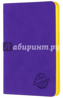 Записная книжка Фиолетовый (срез оранжевый, 90х142 мм, 80 листов) (42598)Записные книжки средние (формат А6)<br>Записная книжка.<br>Количество листов: 80<br>Формат: 90х142 мм.<br>Внутренний блок: офсет, без линовки<br>Крепление: книжное (прошивка)<br>Переплет: гибкий<br>Ляссе.<br>Сделано в Китае.<br>