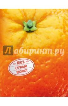 Блокнот АпельсинБлокноты тематические<br>Действительно на 100% сочные блокноты! Яркие, невероятно вкусные и спелые фрукты на обложке красиво мерцают и переливаются на свету и заряжают энергией. А внутри прячутся нежные и вдохновляющие рисунки: цветы, фрукты, мороженое - в общем, все, что надо для отличного и бодрого настроения!<br>
