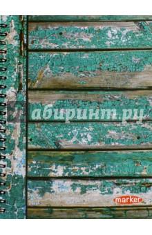 """Тетрадь MARKER """"Дрова"""", 100 листов, на спирали (M-1180510N) Виктория Арте"""