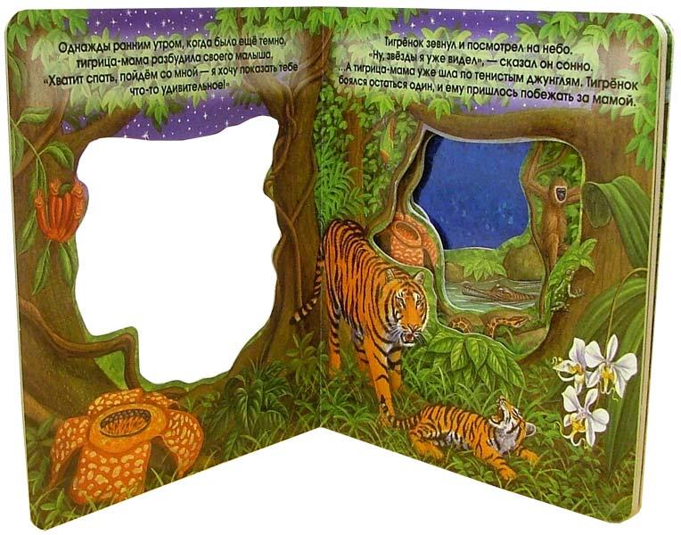 Иллюстрация 1 из 2 для Тигренок и водопад. Что блестит в окошке? | Лабиринт - книги. Источник: Лабиринт