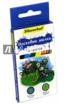 """Восковые мелки """"Пластилиновая коллекция"""" (6 цветов) (884168-06) Silwerhof"""
