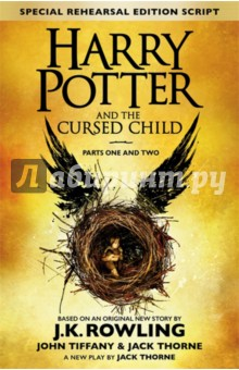 Harry Potter &amp; the Cursed Child - Parts I &amp; IIЛитература на иностранном языке для детей<br>The Eighth Story. Nineteen Years Later. Based on an original new story by J.K. Rowling, Jack Thorne and John Tiffany, a new play by Jack Thorne. Based on an original new story by J.K. Rowling, Jack Thorne and John Tiffany, a new play by Jack Thorne, Harry Potter and the Cursed Child is the eighth story in the Harry Potter series and the first official Harry Potter story to be presented on stage. The play will receive its world premiere in Londons West End on 30th July 2016. It was always difficult being Harry Potter and it isnt much easier now that he is an overworked employee of the Ministry of Magic, a husband, and father of three school-age children. While Harry grapples with a past that refuses to stay where it belongs, his youngest son Albus must struggle with the weight of a family legacy he never wanted. As past and present fuse ominously, both father and son learn the uncomfortable truth: sometimes, darkness comes from unexpected places.<br>