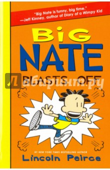 Big Nate Blasts OffЛитература на иностранном языке для детей<br>For fans of the hilarious Diary of a Wimpy Kid series, here comes the eighth novel in the New York Times bestselling series Big Nate.<br>BIG NATE IS BLASTING OFF! <br>Nate has a crush on Ruby. But after his scrap with Randy Betancourt makes headlines in the Weekly Bugle, he s got a problem WAY worse than detention! Can Nate bounce back? And will the annual Mud Bowl be a blast . . . or a bust?<br>Meet BIG NATE, P.S. 38 s coolest doodler and definitely NOT the teacher s pet.<br>
