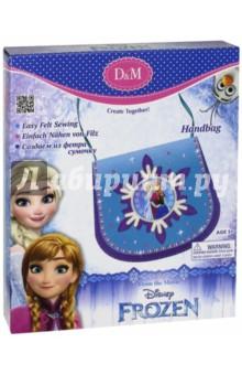 """Набор для шитья сумочки из фетра """"Эльза и Анна. Холодное средце"""" (63831) D&M"""