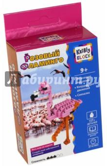 Конструктор Розовый Фламинго, 107 деталей (65247)Конструкторы из пластмассы и мягкого пластика<br>Конструктор Kribly Block развивает логическое мышление, координацию движений и смекалку.<br>107 элементов.<br>Время игры: 20 - 35 минут.<br>Материал: пластмасса.<br>Упаковка: картонная коробка с подвесом.<br>Для детей от 9 лет.<br>Сделано в Китае.<br>