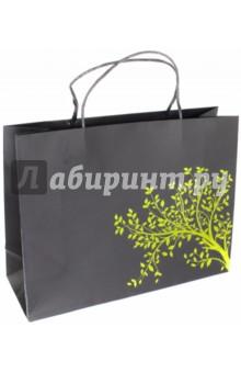 Пакет подарочный Дерево (40х14х30 см) (40126)Подарочные пакеты<br>Пакет подарочный бумажный.<br>Размер: 40х14х30 см.<br>Максимальная нагрузка 5 кг.<br>Ручки бумажные крученые.<br>Сделано в Китае.<br>