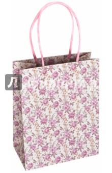 """Пакет подарочный """"Цветочный узор"""" (18х10х23 см) (40107) Феникс+"""