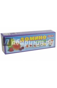Домино  № 14 Фрукты STELLAR (00014)Домино<br>Увлекательная игра Домино. Фрукты.<br>Материал: полистерол. <br>Для детей старше 3-х лет.<br>Сделано в России.<br>