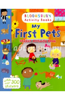 My First Pets Sticker Activity BookЛитература на иностранном языке для детей<br>Help the rabbits through the maze, add stickers to complete the puppy jigsaw, colour in the kittens and much more! This beautiful activity book is packed full of colourful stickers and activities about your favourite pets. Bloomsbury Activity Books provide hours of colouring, stickering and activity fun for boys and girls alike. Every book includes enchanting, bright and beautiful illustrations which children and parents will find very hard to resist. Perfect for providing entertainment at home or on the move!<br>