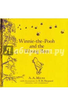 Winnie-the-Pooh: Winnie-the-Pooh and the Wrong BeesЛитература на иностранном языке для детей<br>Winnie-the-Pooh goes out for a walk and encounters the wrong sort of bees in this, the first Winnie-the-Pooh story by A. A. Milne. This beautiful little storybook is a great way to introduce young readers to the characters in the Hundred Acre Wood. Illustrated with E H Shepard s iconic artwork, this is guaranteed to be a bedtime favourite for children aged 5 and up.<br>The nation s favourite teddy bear has been delighting generations of children for 90 years.<br>Milne s classic children s stories - featuring Tigger, Piglet, Eeyore, Christopher Robin and, of course, Pooh himself - are both heart-warming and funny, teaching lessons of friendship and reflecting the power of a child s imagination like no other story before or since. <br>Pooh ranks alongside other beloved characters such as Paddington Bear, and Peter Rabbit as an essential part of our literary heritage. Whether you re 5 or 55, Pooh is the bear for all ages.<br>A.A. Milne is quite simply one of the most famous children s authors of all time. He created Winnie-the-Pooh and his friends Piglet, Eeyore, Tigger, Kanga and Roo based on the real nursery toys played with by his son, Christopher Robin. And those characters not only became the stars of his classic children s books, Winnie-the-Pooh and The House at Pooh Corner, and his poetry for children, they have also been adapted for film, TV and the stage. Through his writings for Punch magazine, A.A. Milne met E.H. Shepard. Shepard went on to draw the original illustrations to accompany Milne s classics, earning him the name the man who drew Pooh.<br>
