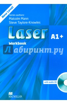 Laser. A1+ Workbook without key (+CD)Английский язык<br>Laser is now a five-level course, with the addition of two new levels, A1+ and A2, designed to cater to younger exam students, and now covers the entire span of secondary education. It is the perfect preparation for students still at school and working towards school-leaving exams and the Cambridge ESOL, KET, PET and FCE exams. <br>The vibrant topic-based units cover the lexical and grammatical syllabus of the Breakthrough to Vantage levels of the Council of Europe s Common European Framework. The course integrates development of all the language skills: reading, writing, listening and speaking, and regular revision sections check continuous progress. <br>Each Student s Book comes with a CD-ROM that reinforces the structures and vocabulary learnt in each unit. Each Workbook is complete with Audio CD, making it ideal for homework, and the Teacher s Book includes a DVD-ROM with tests, a test generator and teacher-training videos. Class Audio CDs are also available. <br>Laser A1+ <br>This is a new level in the Laser series, designed to help students in the transition towards more exam-related study. It contains tasks relevant to KET as well as incorporating extensive grammar and vocabulary work alongside skills development.<br>3 edition.<br>