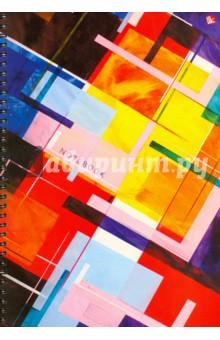 Тетрадь для конспектов, 96 листов, А4 Энергия цвета (ТС4964216)Тетради большеформатные<br>Тетрадь для конспектов.<br>96 листов.<br>Формат А4.<br>Тип бумаги: офсет.<br>Разлиновка: клетка.<br>Переплет: мелованный картон.<br>Крепление: спираль.<br>Сделано в России.<br>